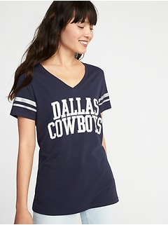 NFL® Dallas Cowboys™ Sleeve-Stripe Tee for Women c66ac7fbc