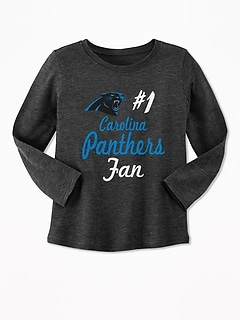 "NFL® Team ""#1 Fan"" Tee for Toddler Girls"