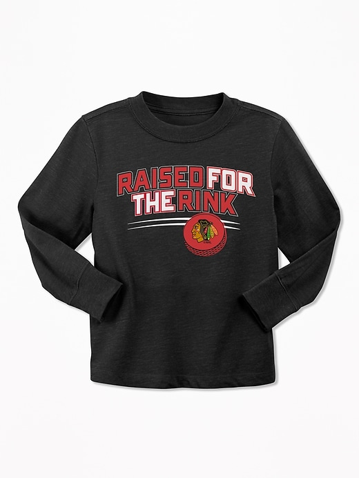 "NHL&#174 Team ""Raised For the Rink"" Tee for Toddler Boys"