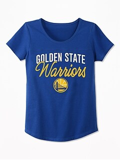 NBA® Team Glitter-Graphic Tee for Girls