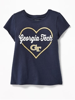 NCAA&#174 Heart Graphic Tee for Toddler Girls