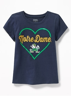 NCAA® Heart Graphic Tee for Toddler Girls