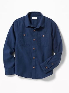 Twill Pocket Shirt for Boys