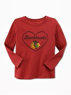 NHL® Team Heart Tee for Toddler Girls
