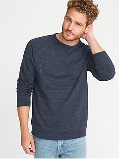 Classic Crew-Neck Sweatshirt for Men