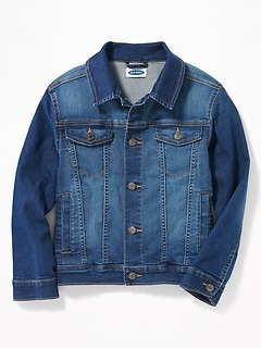 Denim Trucker Jacket for Boys