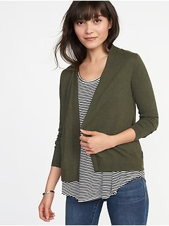 Open-Front Sweater for Women