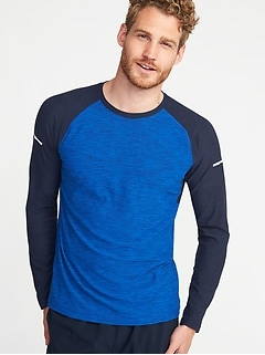 Built-In Flex Go-Dry Tee for Men