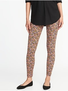 Printed Jersey Leggings for Women