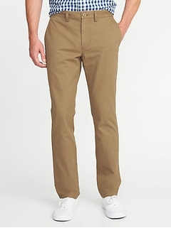 Straight Uniform Khakis for Men