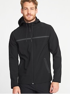 Go-Warm Hooded Soft-Shell Jacket for Men