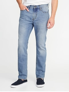 Straight Rigid Jeans for Men