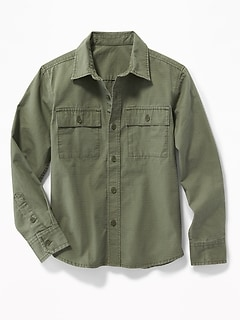 Ripstop Utility Shirt for Boys
