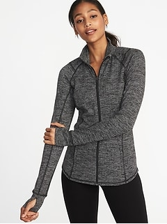 Fitted Full-Zip Performance Jacket for Women