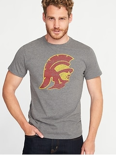College Team Mascot Tee for Men