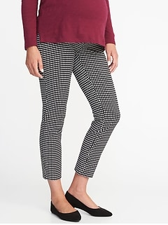 Maternity Full-Panel Pixie Pants