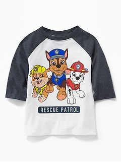 "Paw Patrol&#153 ""Rescue Patrol"" Raglan Tee for Toddler Boys"