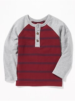 Raglan Henley for Toddler Boys