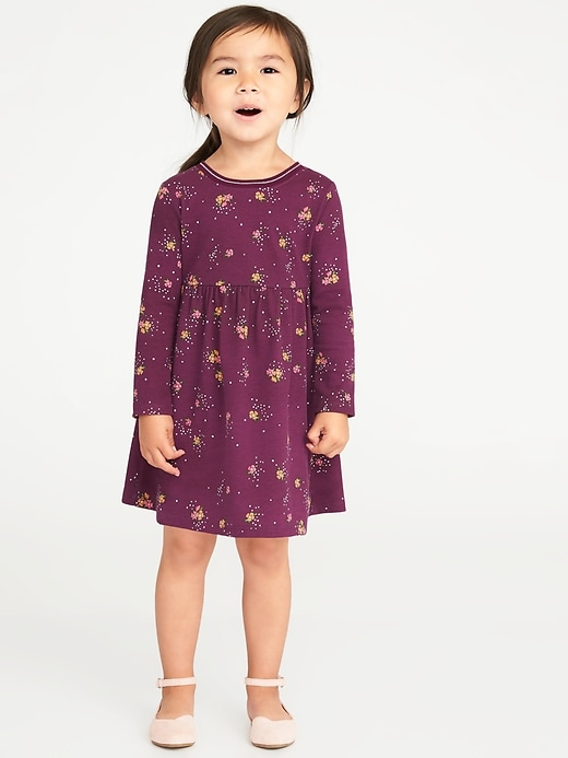 Jersey Babydoll Dress For Toddler Girls by Old Navy