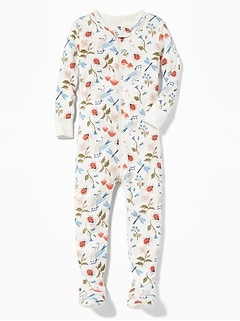 Printed Footed Sleeper for Toddler & Baby