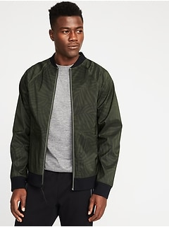 Go-H20 Water-Resistant Bomber Jacket for Men