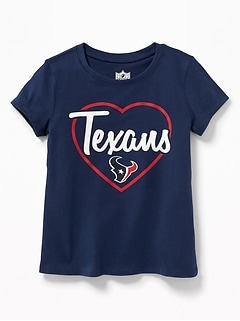 NFL® Team Heart Graphic Tee for Toddler Girls