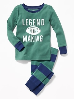 """Legend in the Making"" Sleep Set for Toddler Boys & Baby"