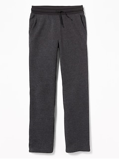 Uniform Slim Taper Sweatpants for Boys