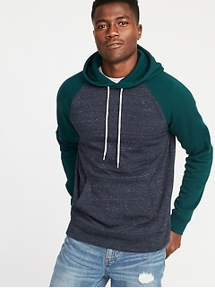 Classic Raglan Hoodie for Men