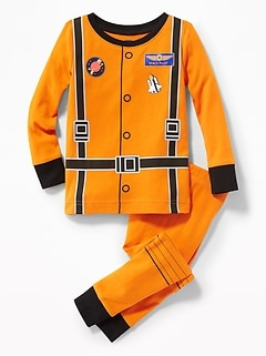 """Space Pilot"" Sleep Set for Toddler & Baby"