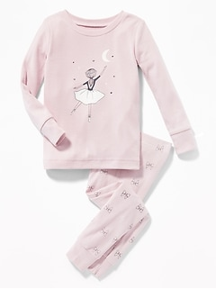 Ballerina Sleep Set for Toddler Girls & Baby