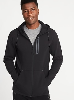 Dynamic Fleece 4-Way-Stretch Zip Hoodie for Men