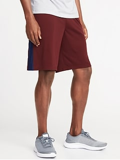 Go-Dry Performance Shorts for Men - 10-inch inseam