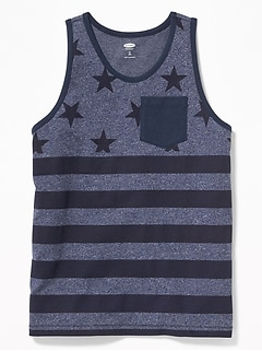 Printed Pocket Tank for Boys