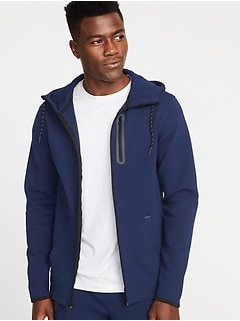 Built-In Flex Zip Hoodie for Men