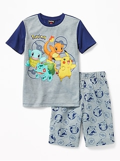 Pop Culture Sleep Set for Boys