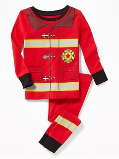 Firefighter Sleep Set for Toddler & Baby