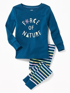 """Force of Nature"" Sleep Set for Toddler & Baby"