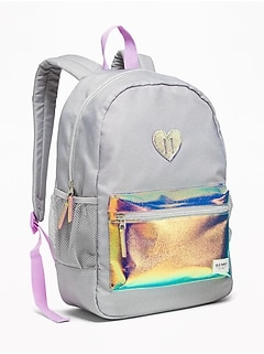 Graphic Backpack for Girls