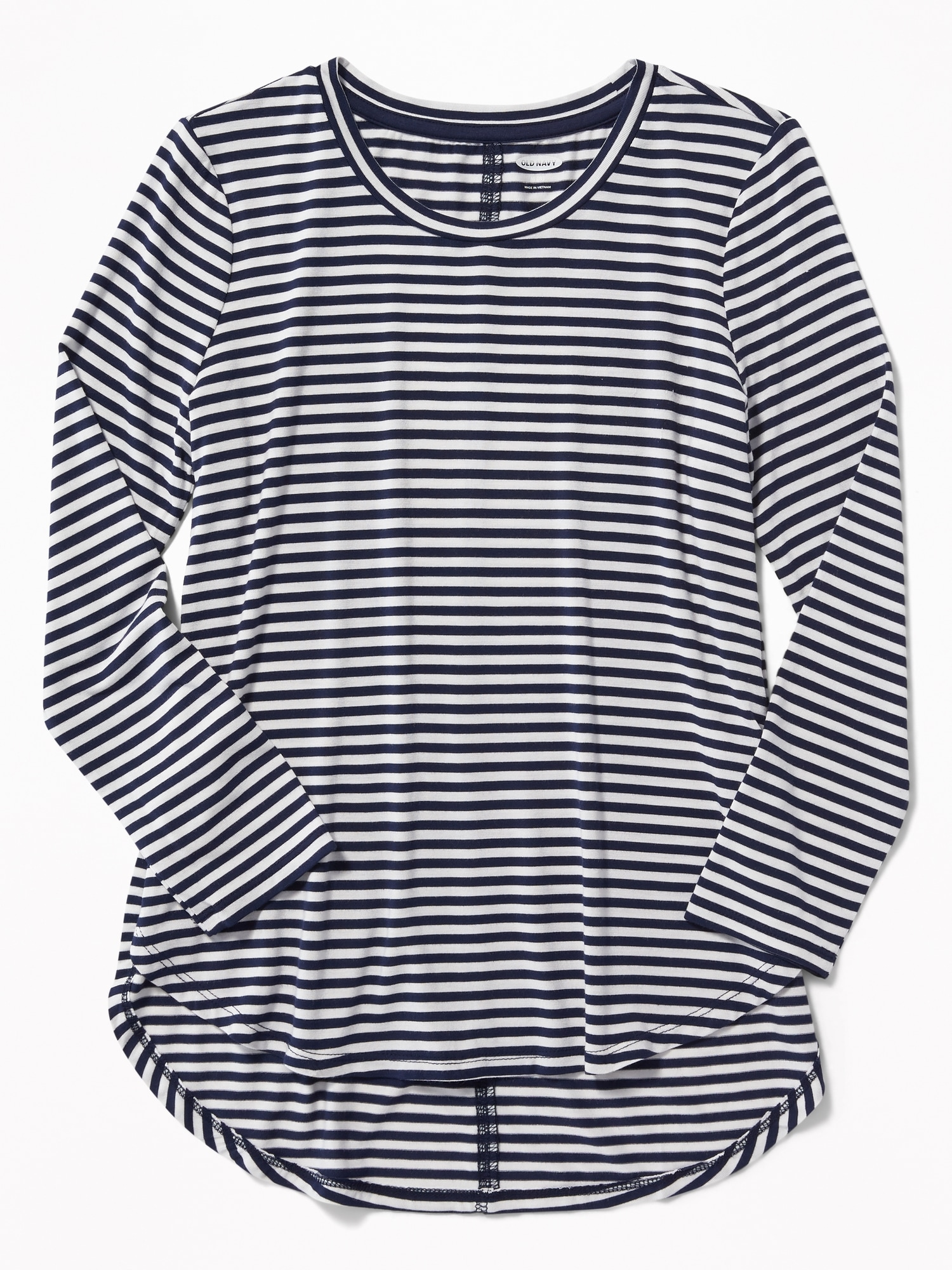 d310b288418d Black And White Striped T Shirt Old Navy | Top Mode Depot