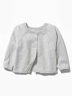 Button-Front Cardi for Baby