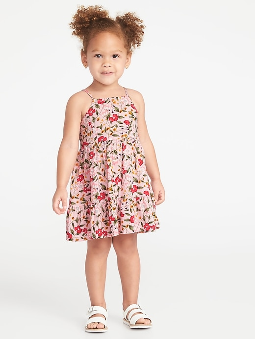 Sleeveless Tiered Cami Dress For Baby by Old Navy