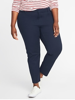 Mid-Rise Plus-Size Pixie Pants