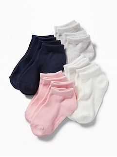 Ankle Socks 8-Pack For Toddler & Baby