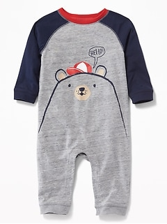 Bear-Critter One-Piece for Baby