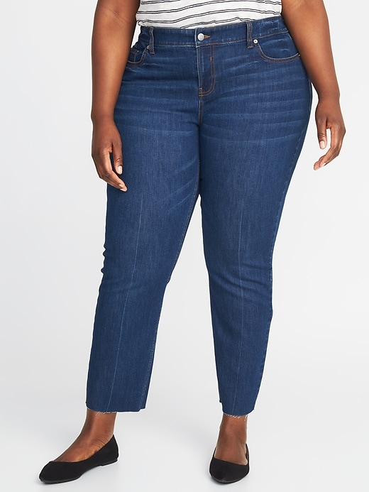 High-Rise The Plus-Size Power Jean a.k.a. The Perfect Straight Ankle