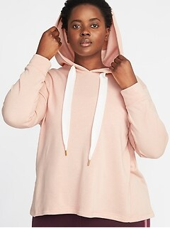 Pullover Plus-Size Hoodie