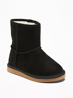 Sueded Boots for Toddler Girls