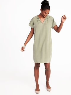 Tencel&#174 Shift Dress for Women