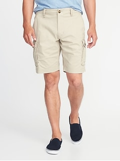 Lived-In Built-In Flex Cargo Shorts for Men - 10-inch inseam